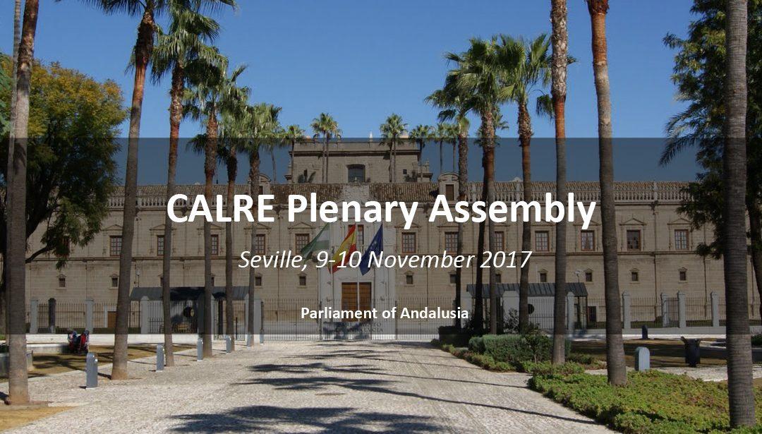 2017 CALRE Plenary Assembly