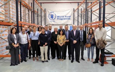 """President Durán: """"we are indebted to the work of organizations that save lives and try to resolve conflicts to avoid displacement of people"""""""
