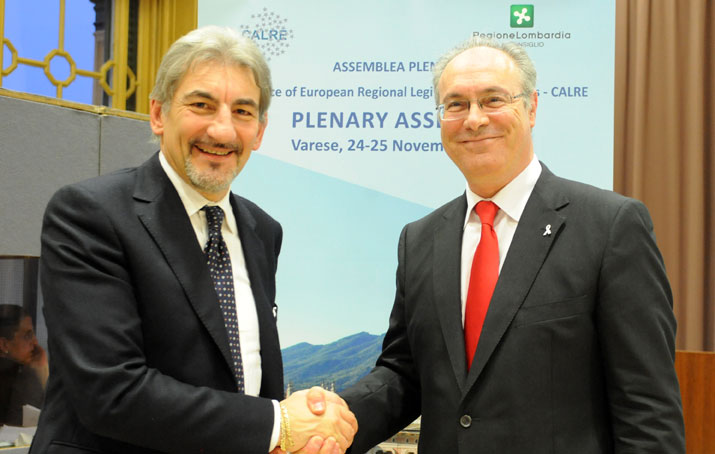 CALRE, Lombardy passes the baton to Andalusia