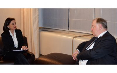 Ana Luís meets with the President of the Committee of the Regions