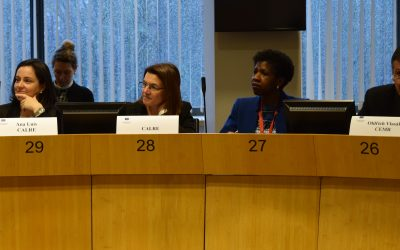 Ana Luis at the Committee of the Regions