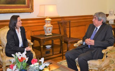 President of CALRE meets with President of the Assembly of the Republic (Portugal)