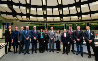 """""""A stronger Europe must have a stronger Cohesion Policy"""", said Ana Luís at the first meeting of CALRE's Standing Committee"""