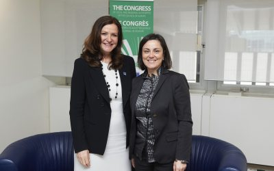 Ana Luís meets with the President of the Congress of Local and Regional Authorities of the Council of Europe