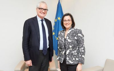 Ana Luís meets with the President of the Parliamentary Assembly of the Council of Europe