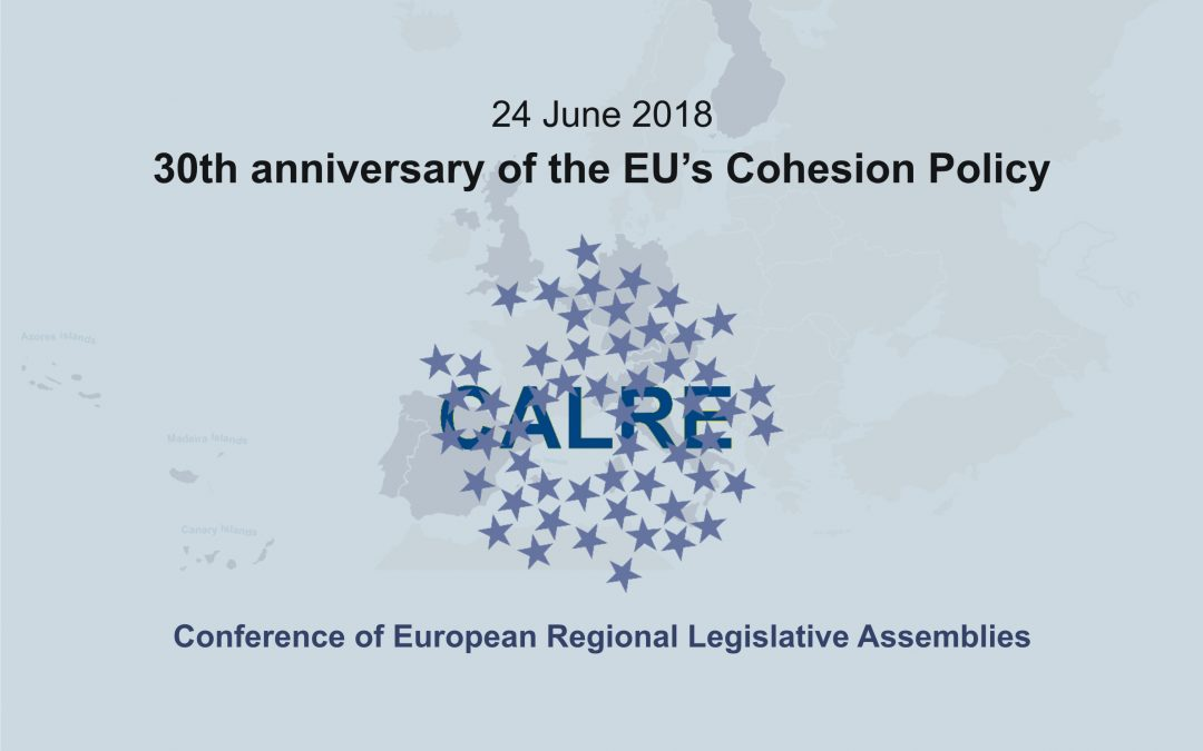Statement on the occasion of the 30th anniversary of the EU's Cohesion Policy