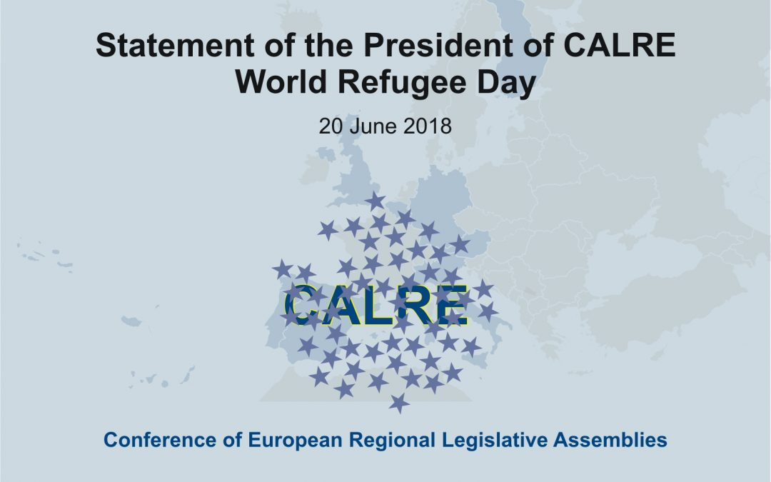 Statement of the President of CALRE on the occasion of the World Refugee Day