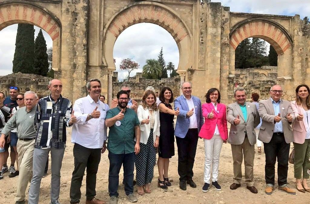 The Parliament of Andalusia celebrates the declaration of the Caliphate City of Medina Azahara as a UNESCO World Heritage