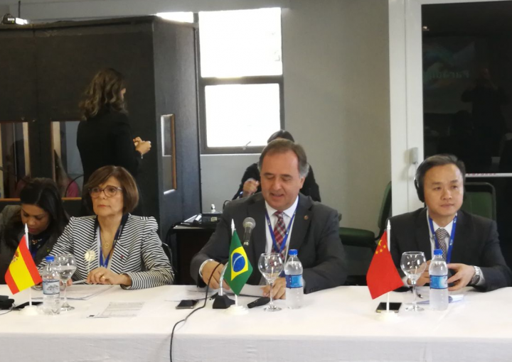 President of the Regional Assembly of Murcia attends the XXII Conference of UNALE