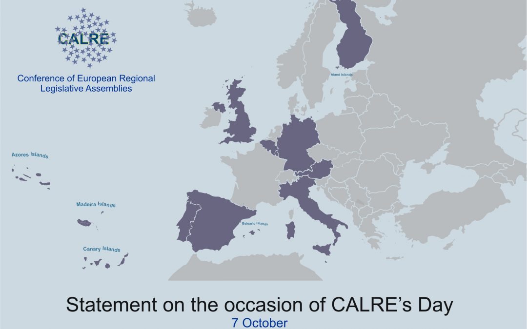 Statement on the occasion of CALRE's Day