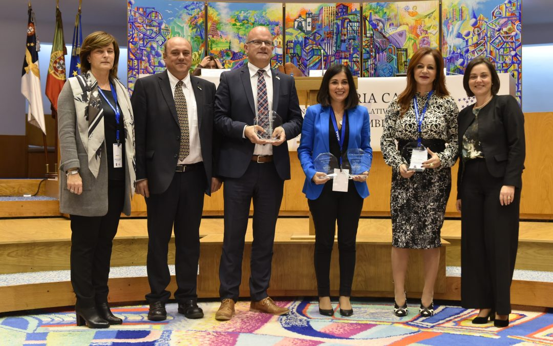 "Award ceremony to reward the winners of CALRE's ""Star of Europe"""