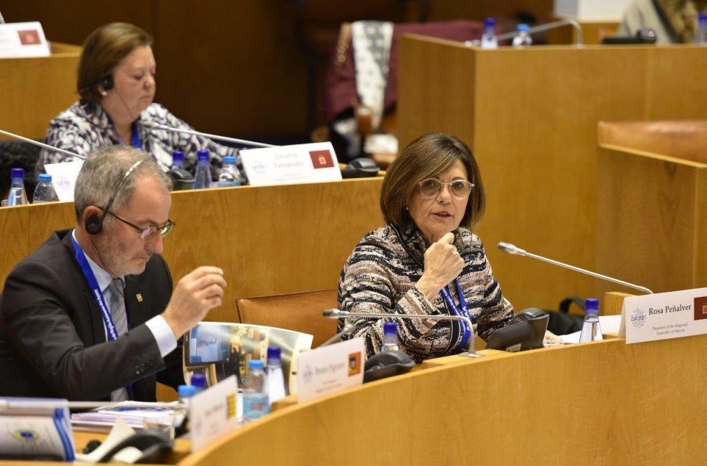 The Parliaments of Europe renew their confidence in Rosa Peñalver to continue coordinating the Working Group on Gender Equality