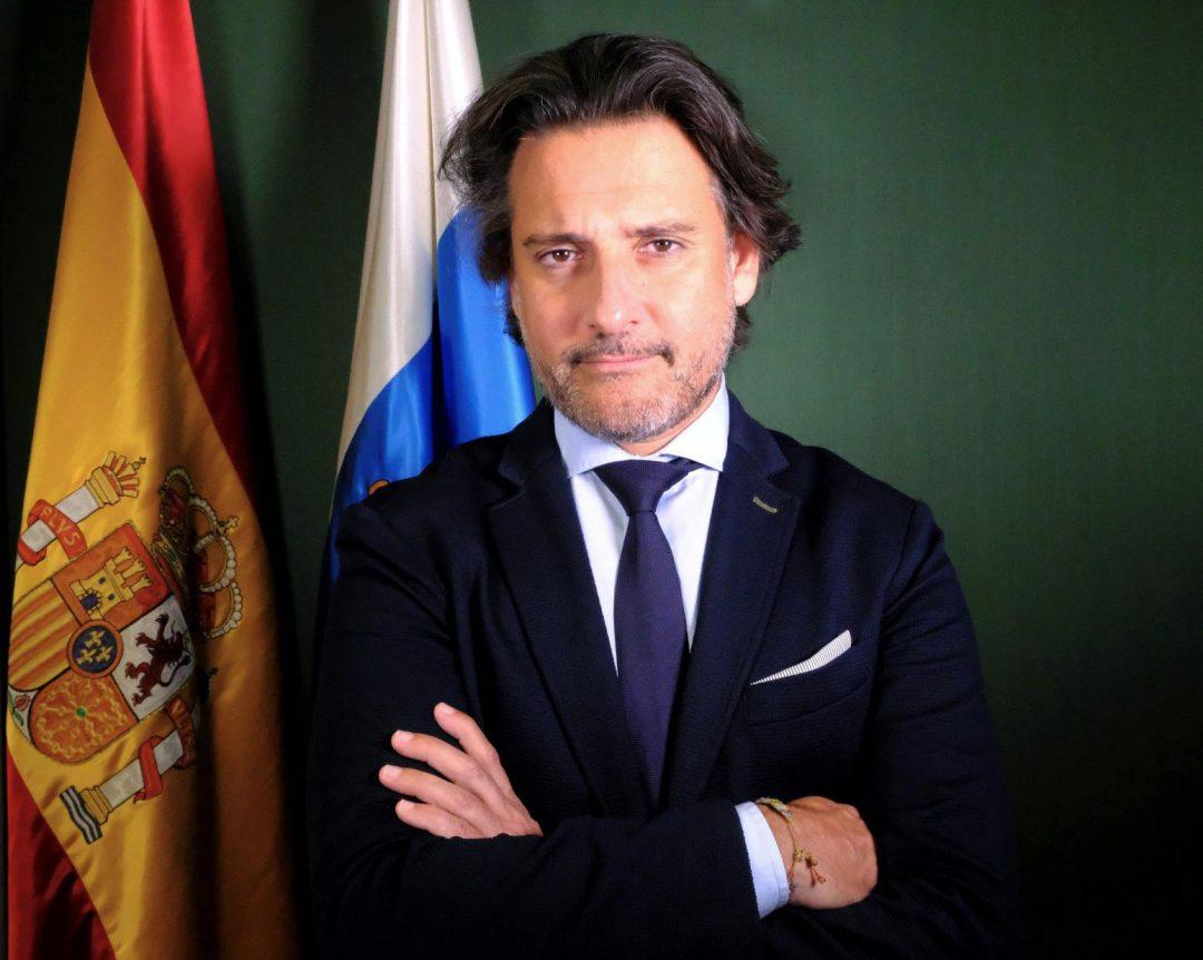 Gustavo A. Matos Expósito (Presidente del Parlamento de Canarias)