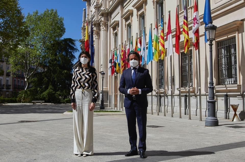 Matos and Llop agree on the need for a greater weight of the regions in decision-making in the face of the challenges of the European project