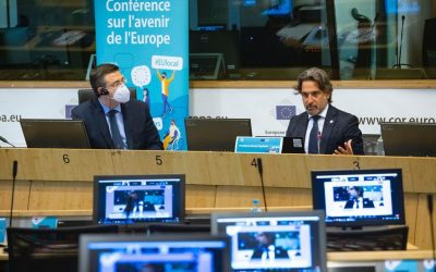 Matos claims a leading role for the regions in the Conference on the Future of Europe